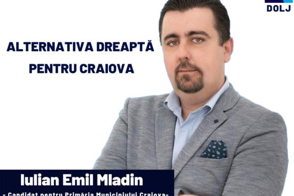 emil iulian mladin, candidat, primaria craiova